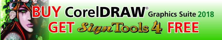SignTools 4 For CorelDRAW Vinyl Cutting Software